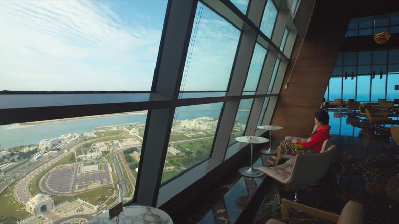 منارة الرؤية على ارتفاع 300 متر في أبراج الاتحاد بأبوظبي