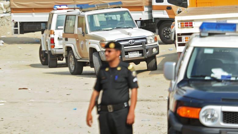 صورة أرشيفية لعنصر في الشرطة السعودية