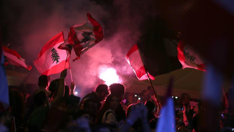 صورة سابقة من مظاهرات لبنان