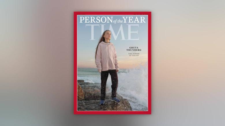 مجلة تايم تختار الناشطة بمجال البيئة غريتا تونبرغ شخصية 2019