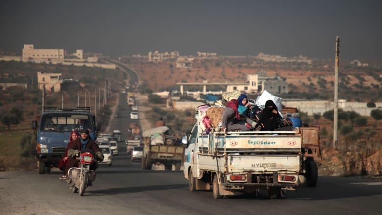 الأمم المتحدة: أكثر من 235 ألف نازح في شمال غرب سوريا بسبب التصعيد في إدلب