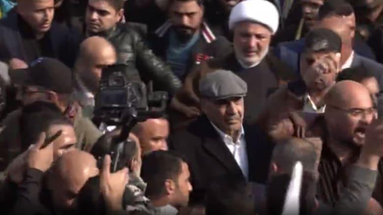 رئيس الوزراء العراقي يشارك في تشييع سليماني والمهندس