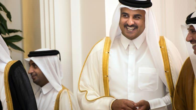 صورة أرشيفية لأمير قطر، الشيخ تميم بن حمد