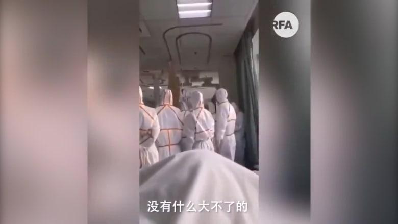 فيروس كورونا.. مقاطع فيديو من داخل مستشفيات ووهان بالصين