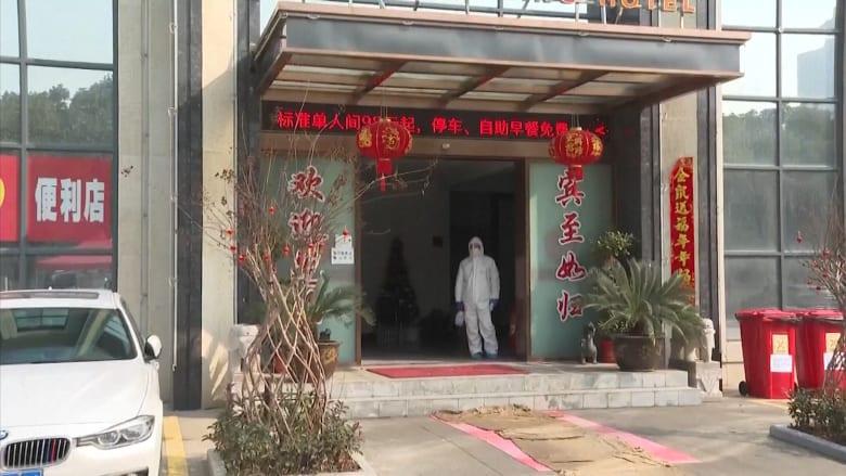 داخل فندق خُصص لمعالجة حالات فيروس كورونا في الصين