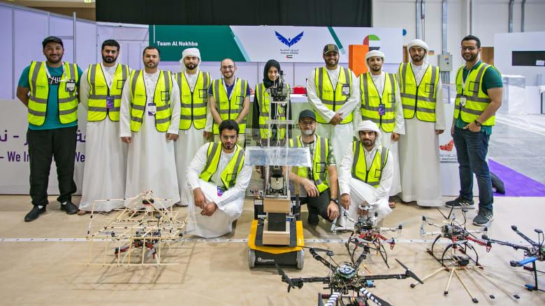 تحدي محمد بن زايد العالمي للروبوت