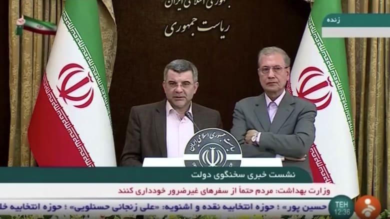 شاهد.. أعراض فيروس كورونا تظهر على نائب وزير الصحة الإيراني خلال كلمة له