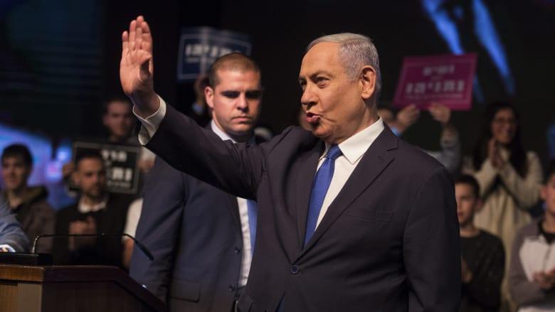 """الانتخابات الإسرائيلية.. نتنياهو يعلن انتصاره وغانتس """"مُحبط"""".. وكلاهما لن يشكل حكومة مُنفردًا"""