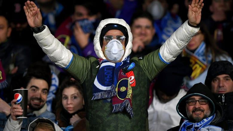 """إيطاليا تلغي جميع الأحداث الرياضية في """"المناطق الحمراء"""" بسبب فيروس كورونا"""