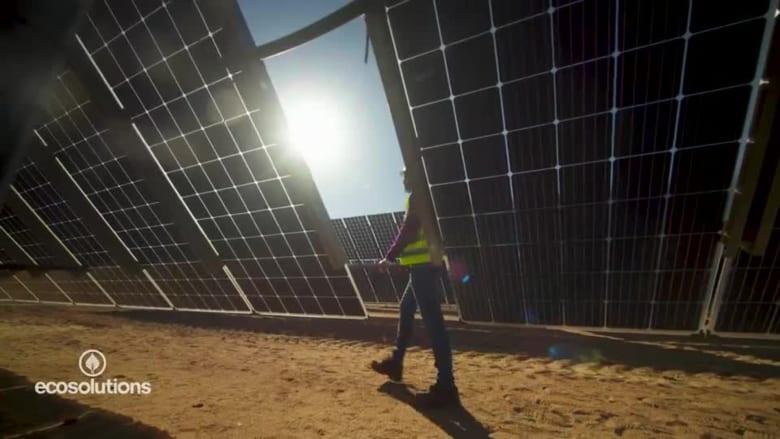 في مصر.. مجمع للطاقة الشمسية يمكنه تشغيل مليون منزل