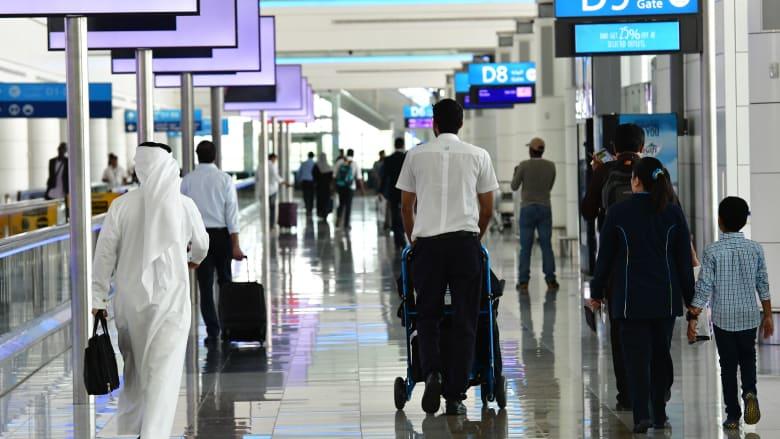 صورة أرشيفية من مطار دبي الدولي