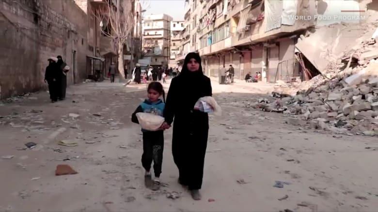 شاهد كيف يساعد برنامج الأغذية العالمي في حد انتشار كورونا في سوريا