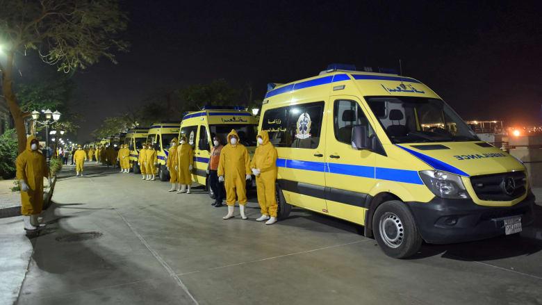 """السلطات المصرية تروي تفاصيل واقعة وضع جثمان ضحية كوورنا في سيارة """"ربع نقل"""".. ماذا حدث؟"""