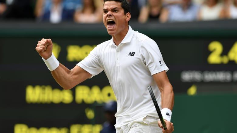 هكذا يقضي نجم التنس ميلوش راونيتش وقته خلال الحجر الصحي بسبب كورونا