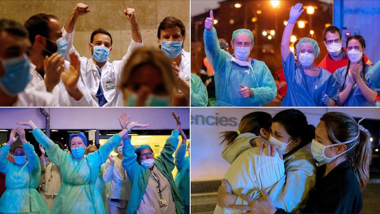 بصيص من الأمل مع انخفاض أعداد إصابات فيروس كورونا بأكثر البلدان تضرراً في أوروبا