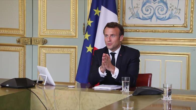 """ماكرون """"على خطى تشرشل"""" في خطاب للفرنسيين مساء الاثنين"""
