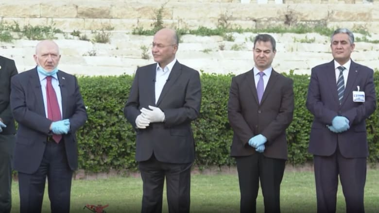 الرئيس العراقي: المعركة مع فيروس كورونا لم تنته بعد