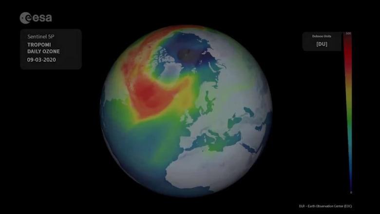 تغيير مفاجئ في ثقب الأوزون الأضخم بالغلاف الجوي