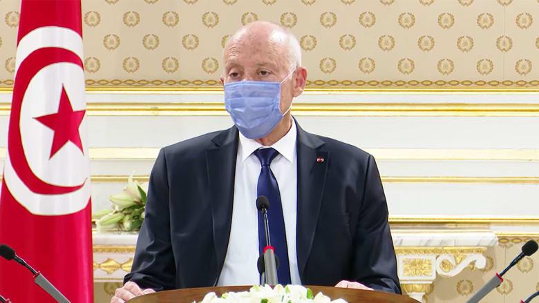 الرئيس التونسي قيس سعيد