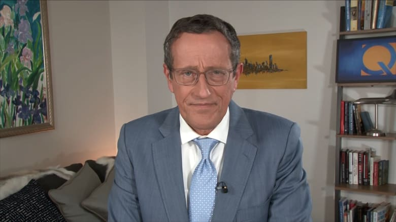 مذيع CNN ريتشارد كويست يعلن إصابته بفيروس كورونا