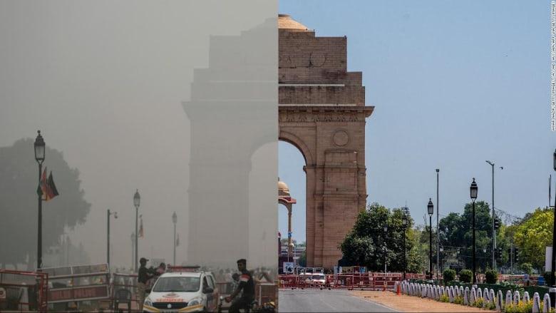 إغلاق كورونا يؤدي إلى انخفاض تلوث الهواء في أكبر مدن العالم