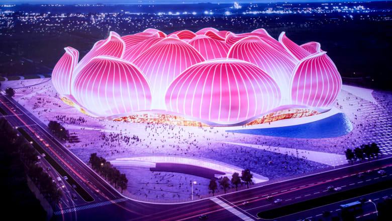الصين تبدأ بناء أكبر استاد كرة قدم في العالم بتكلفة 1.7 مليار دولار