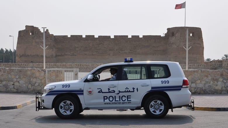 صورة ارشيفية لسيارة شرطة في البحرين