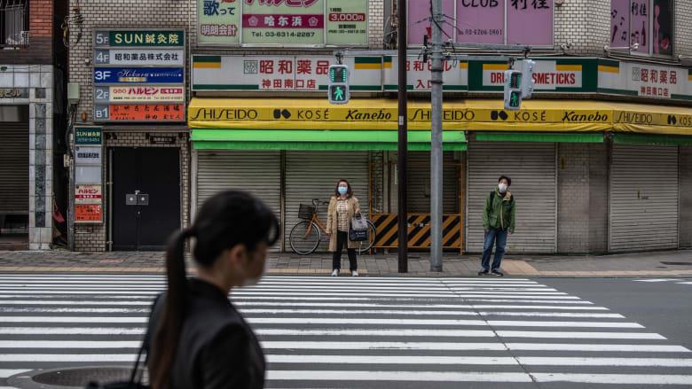 آلاف اللاجئين بلا منازل في طوكيو بعد تفشي فيروس كورونا
