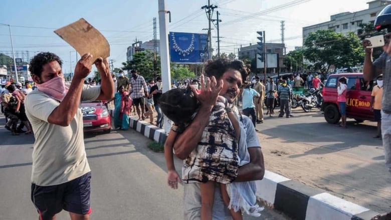 مقتل وإصابة المئات في تسرب غاز سام من مصنع كيماوي في الهند