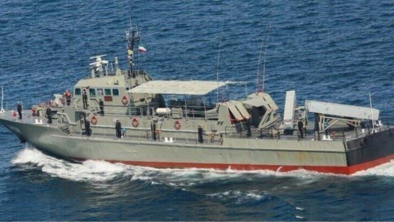 صورة نشرتها وكالة الأنباء الإيرانية لإحدى قطعها البحرية
