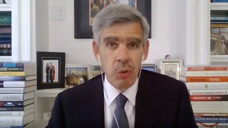 """محمد العريان لـCNN: لا نعرف الكثير.. وإعادة افتتاح الاقتصاد ستكون """"تجربة ضخمة"""""""