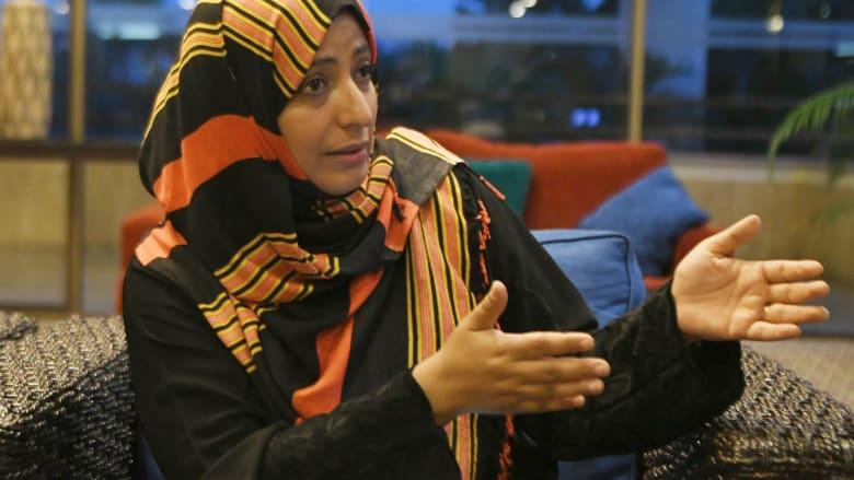 صورة أرشيفية للناشطة اليمنية توكل كرمان