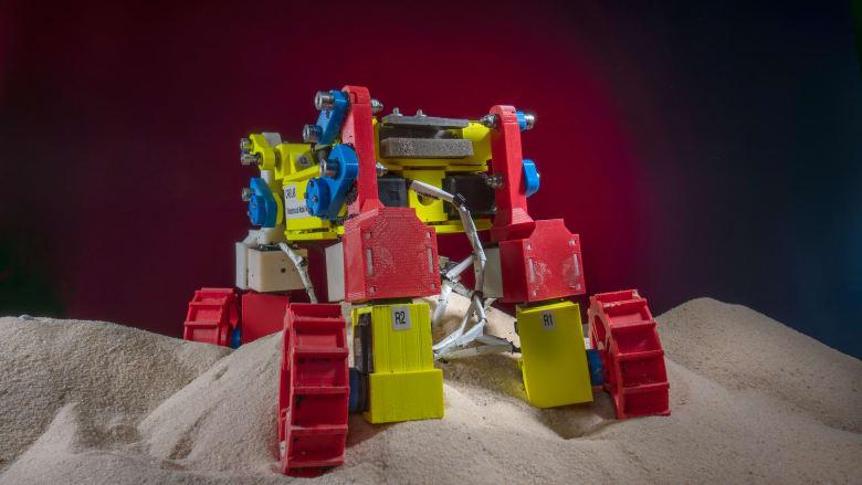 ابتكار روبوت مصغر يمكنه التغلب على تضاريس الكواكب القاسية
