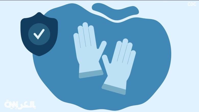 عند تنظيف وتعقيم المنزل أو رعاية شخص مريض.. متى يجب عليك ارتداء القفازات؟