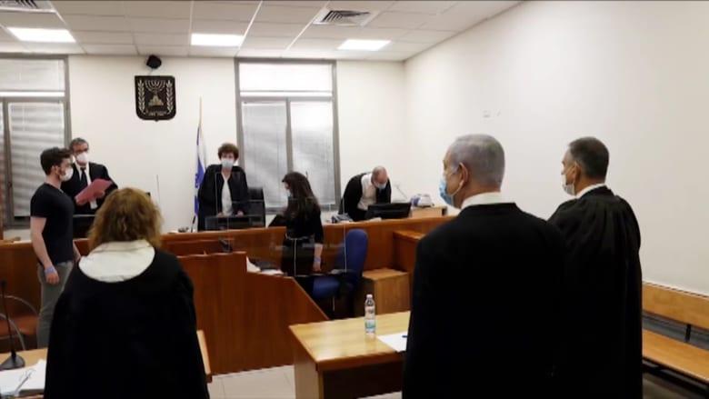 """نتنياهو ينتقد الإعلام والقضاء بأولى جلسات محاكمته: الاتهامات """"وهمية وكاذبة"""""""