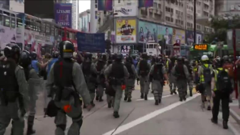 """احتجاجات هونغ كونغ تعود من جديد ضد مشروع قانون """"الأمن القومي"""""""