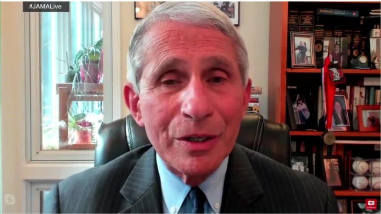 الدكتور أنتوني فاوتشي متفائل من الوصول إلى لقاح لفيروس كورونا