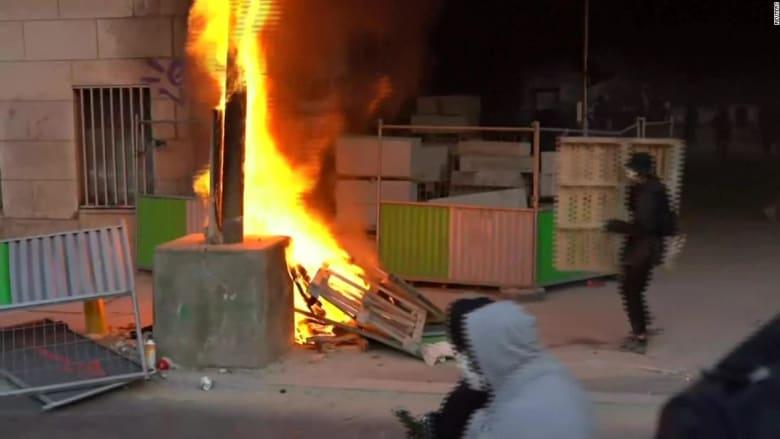 عدوى تظاهرات فلويد تصل فرنسا وتشعل موجة احتجاجات غاضبة ضد الشرطة