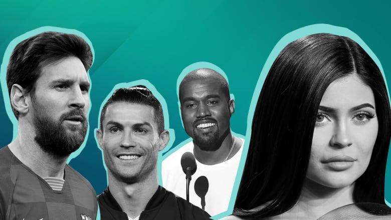 من هم المشاهير الأعلى أجراً للعام 2020؟