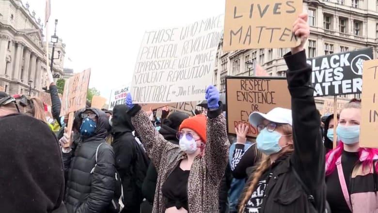 """نظرة على احتجاجات """"حياة السود مهمة"""" حول العالم"""
