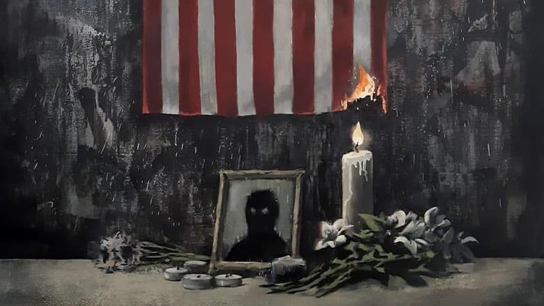 """بانكسي يكشف النقاب عن عمل فني دعماً لـ """"حياة السود مهمّة"""""""