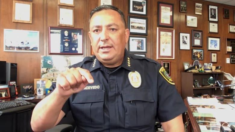 قائد شرطة هيوستن: يجب على ترامب أن يبقي فمه مغلقاً