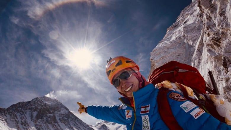 بعد تسلق أعلى قمة في العالم.. جويس عزام تستعد للتحدي الأكبر للمستكشفين
