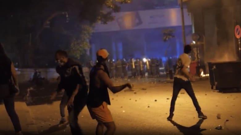كاميرا CNN ترصد عودة الاحتجاجات الغاضبة في شوارع بيروت