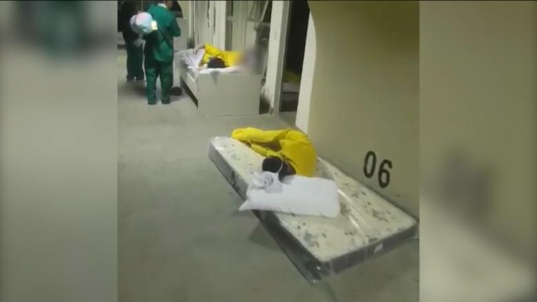 صور تُظهر كيف اجتاح فيروس كورونا مستشفيات ريو دي جانيرو