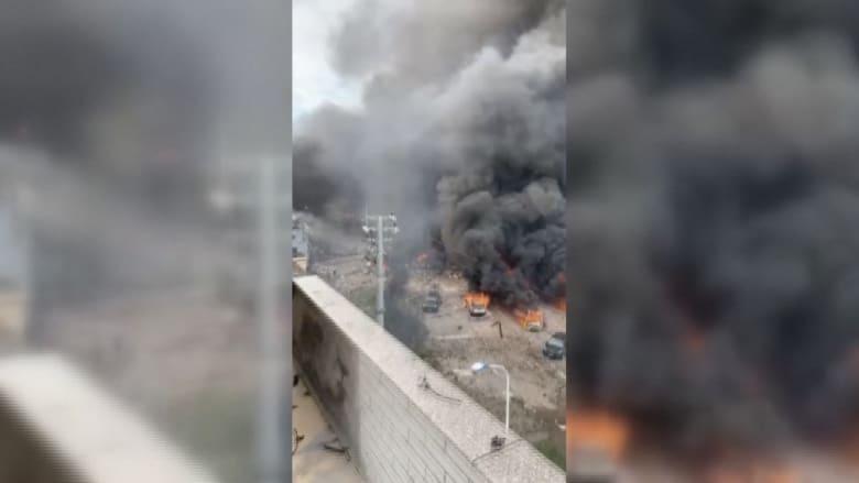 عشرات القتلى والمصابين بعد انفجار هائل لناقلة محملة بالغاز الطبيعي في الصين