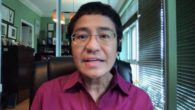 بعد إدانتها بالتشهير.. الصحفية الفلبينية ماريا ريسا لـCNN: الاتهامات ذات دوافع سياسية