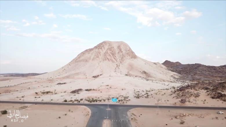 جبل الصايرة البيضاء - محافظة بيشة - المملكة العربية السعودية