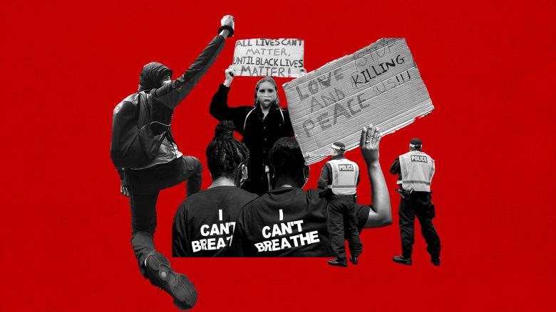 """وثائقي حصري.. """"حياة السود مهمّة"""" تحيي نقاشًا """"غير مريح"""" في بريطانيا"""