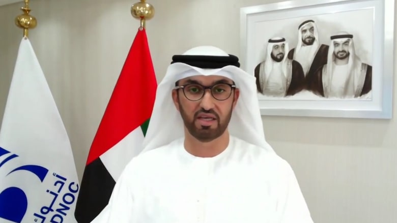 سلطان الجابر يتحدث لـCNN عن صفقة أدنوك بقيمة 20.7 مليار دولار: إنجاز في الوضع الراهن